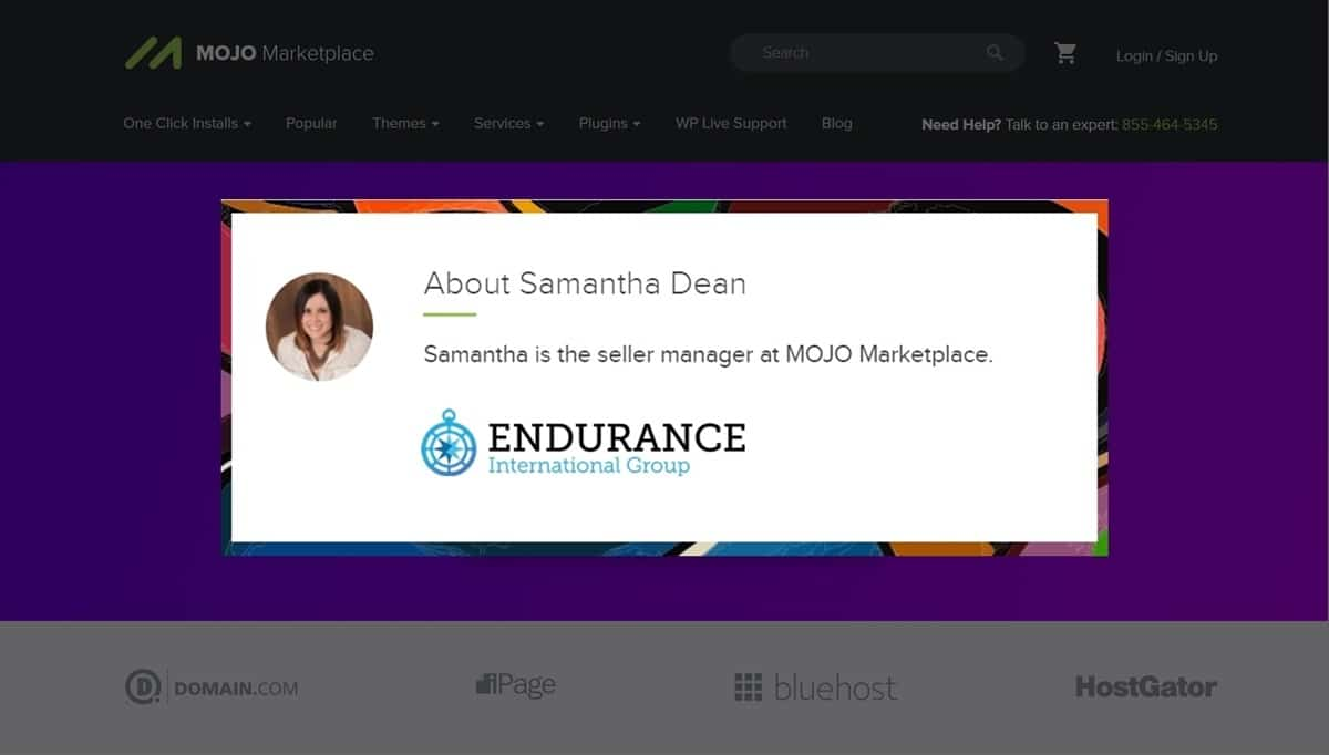 Samantha Interview Seller Manager At Endurance