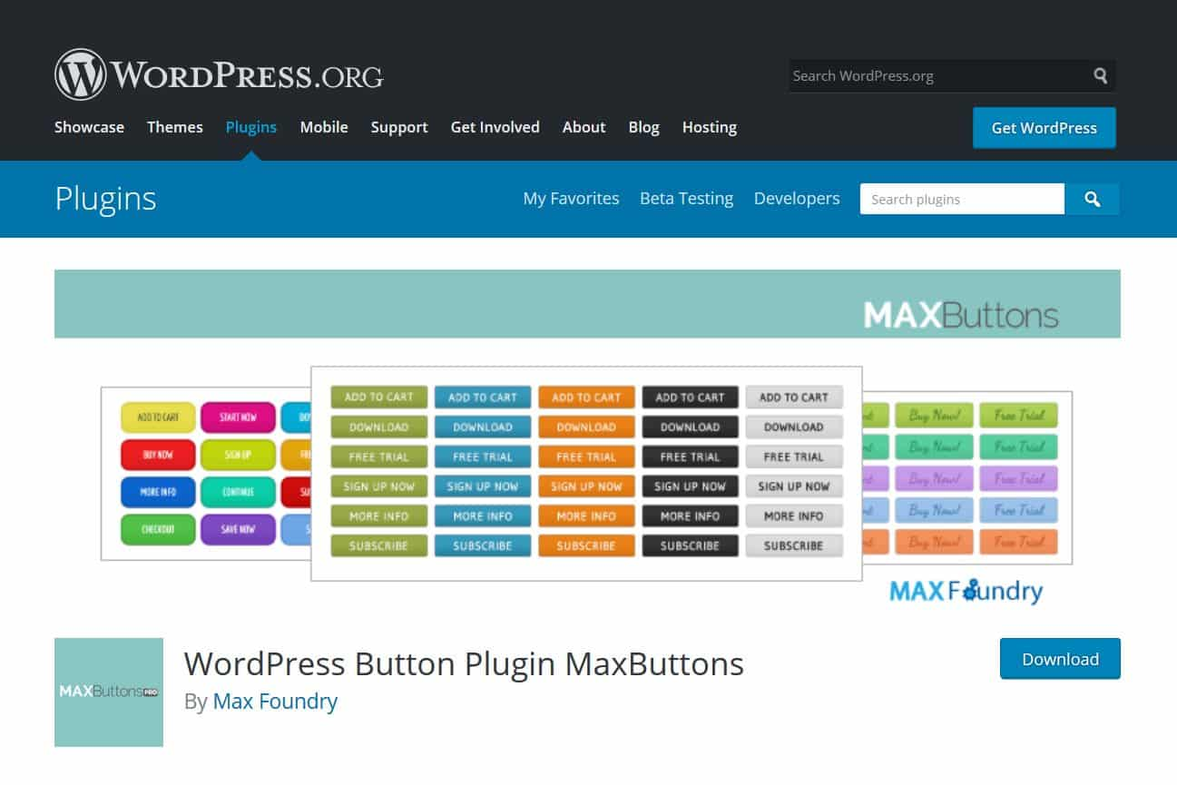 A Free WordPress Blog Posts Button Plugin