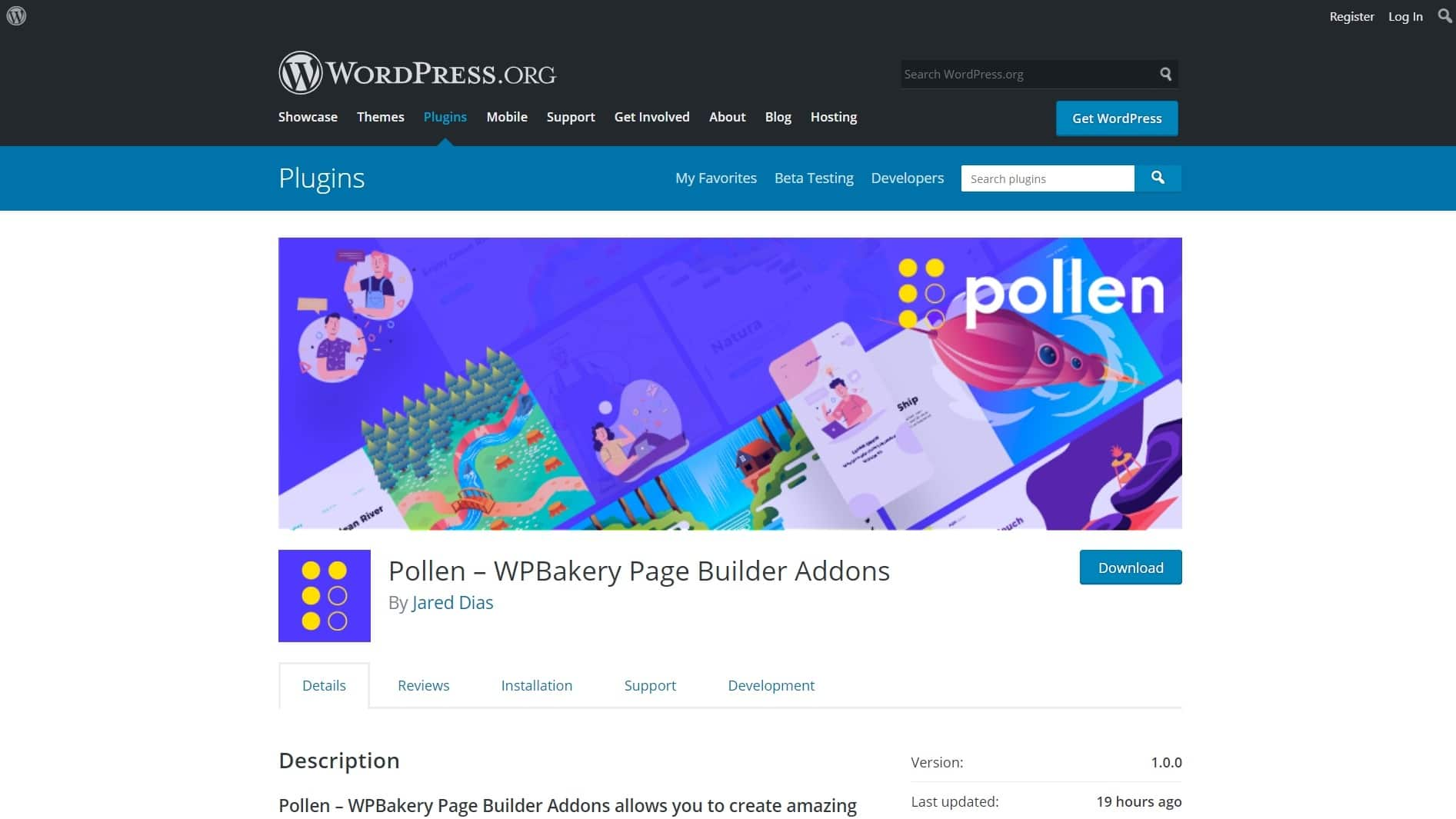 How To Install Pollen WordPress Plugin - WPBakery Page Builder Addons