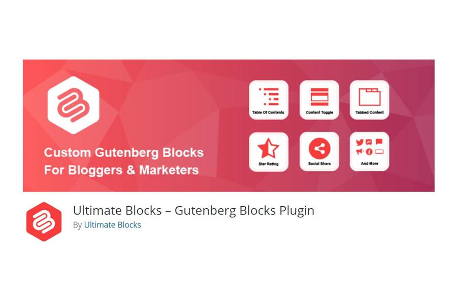 Ultimate Blocks Gutenberg Free WordPress Addon Plugin