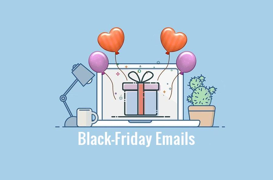 5 Emails to Send in the Lead Up to Black Friday