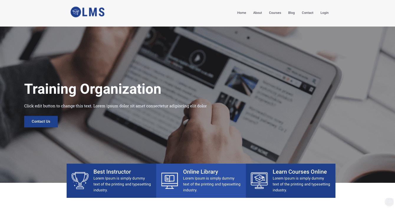 Get an LMS WordPress Theme