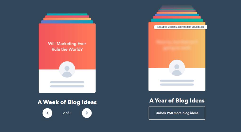 Blog Ideas Generator Blogging Tools List