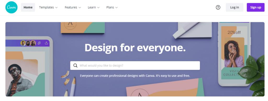 Canva Blogging Tools list